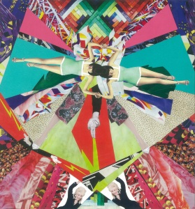 Dolly Chaos, Collage by Emily Hill, 2014