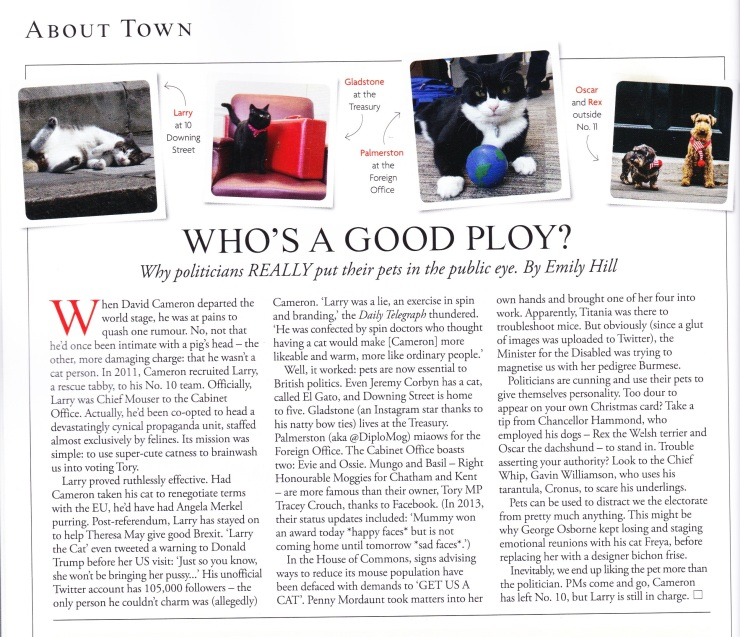 Tatler May article