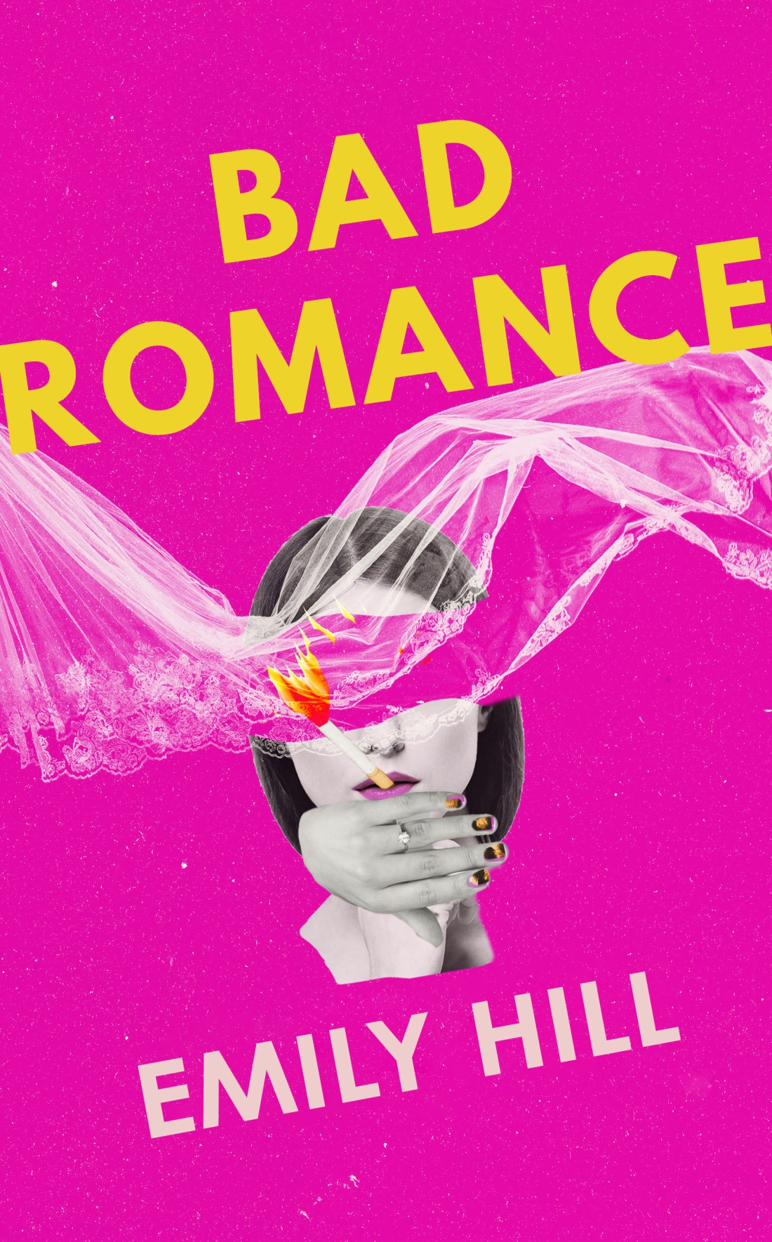 BAD ROMANCE COVER 1 recoloured